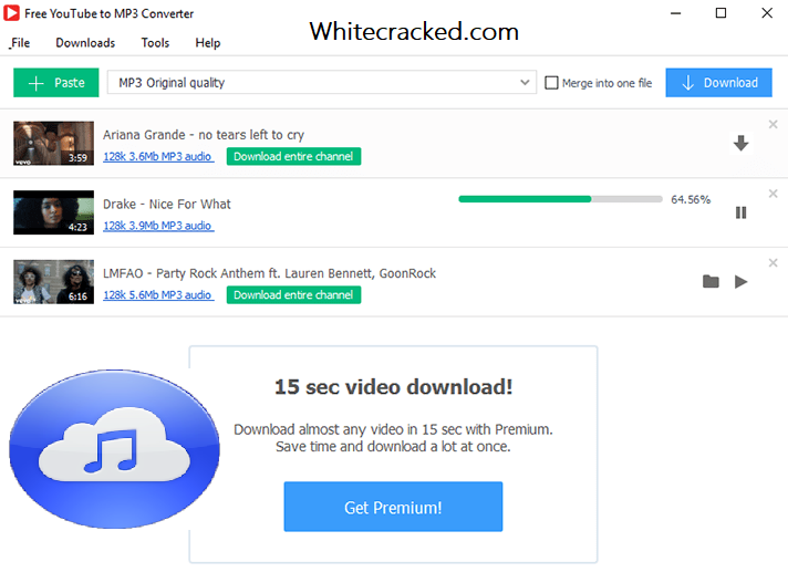 4K YouTube to MP3 Download Free With Torrent