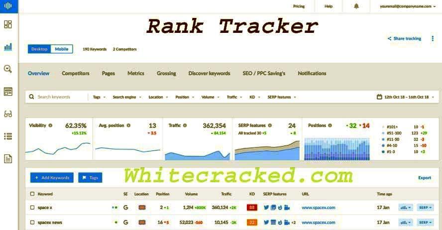 Rank Tracker Torrent With Registration Key