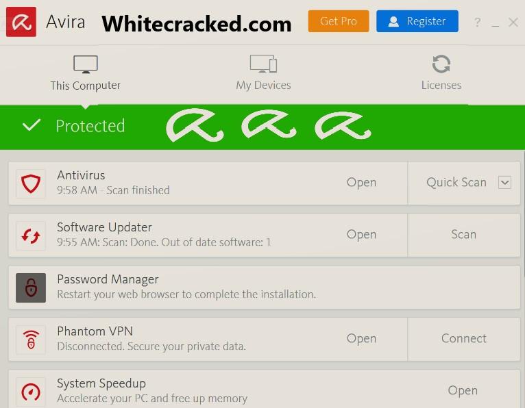 Avira Antivirus Pro Serial Numbe