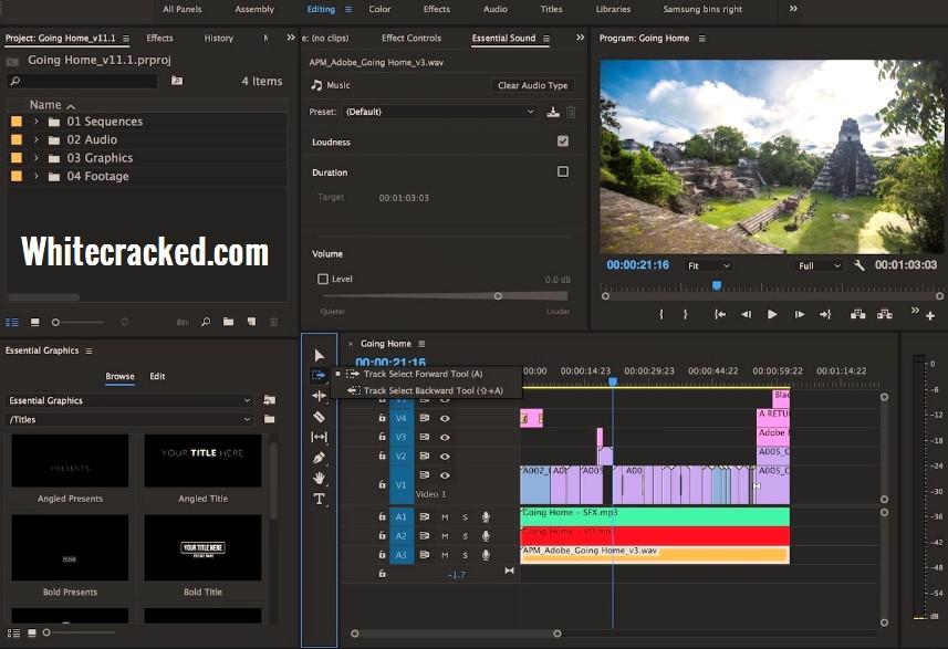 Adobe Premiere Pro CC Crack Free Download