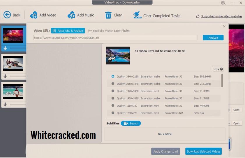 VideoProc Full Registration Code
