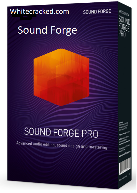 Sound Forge Crack